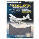 B-17 Flying Fortress Metal Earth 3D Model Kit